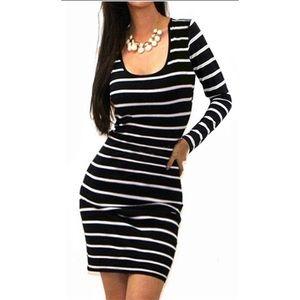 💐NEW Long Sleeve Striped Dress 💐